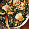 Fingerling Potato-Leek Hash with Swiss Chard and Eggs (Cooking Light)