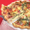 Dairy-free Ham & Spinach Quiche